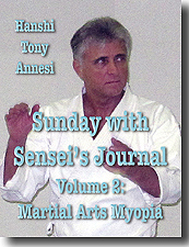 Sunday with Sensei's Journal 2